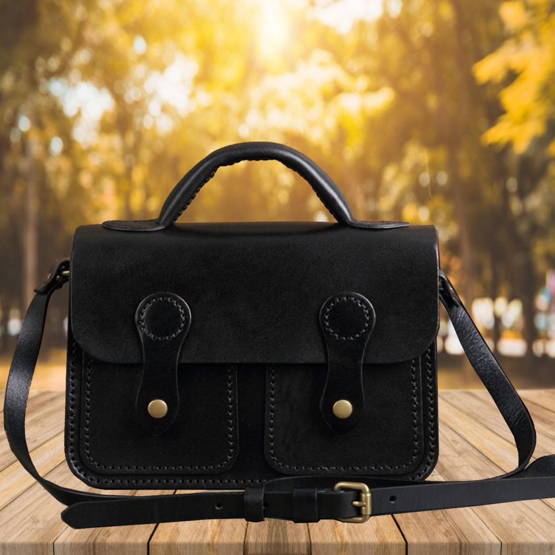 55e0f6e9 Handmade Womens Beige Leather Satchel Bag | Leather Handbag